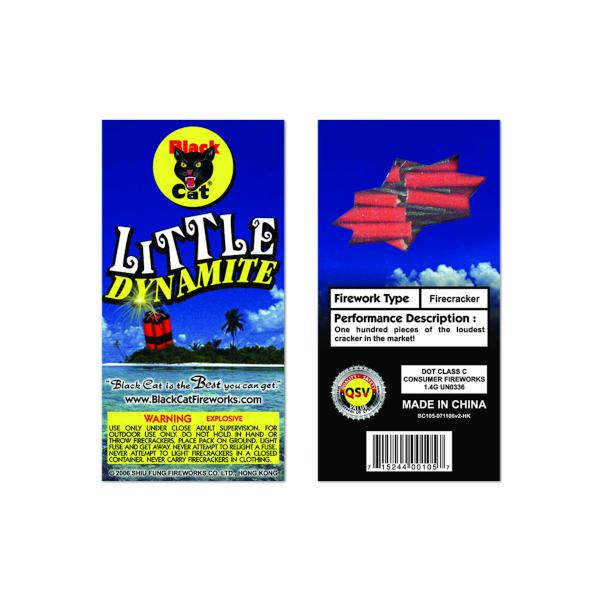 LITTLE DYNAMITE WATERPROOF 100 PC FIREWORKS WARRENTON MO